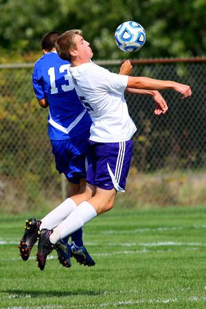 10-12-13  --- Sectional Boys Soccer - NWHS vs Tipton HS<br />   KT photo   Tim Bath