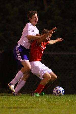 10-17-13  --  Regional Boys Soccer Northwestern vs Western Boone HS<br /> <br />   KT photo   Tim Bath