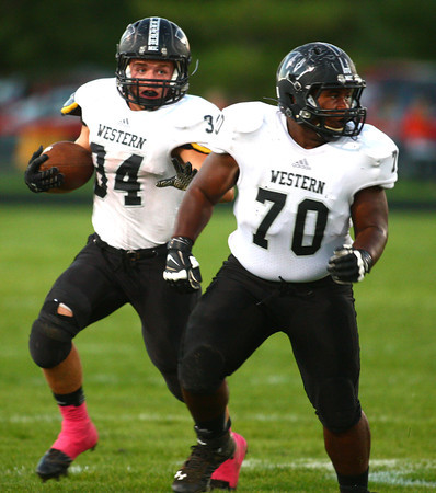 10-11-13<br /> Western vs. Hamilton Heights football<br /> <br /> KT photo | Kelly Lafferty