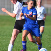 10-2-13<br /> Kokomo vs. Western girls soccer<br /> Western's Emily Hawkins and Kokomo's Katelyn Van Horn<br /> KT photo | Kelly Lafferty