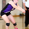 10-22-13<br /> Northwestern vs. Western volleyball sectional<br /> Northwestern's Kelsey Richards<br /> KT photo | Kelly Lafferty