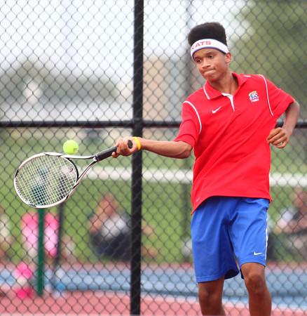 10-3-13<br /> Tennis sectional<br /> Kokomo 2 singles Bryce York<br /> KT photo   Kelly Lafferty