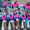 10-4-13<br /> Kokomo High School's student section wore pink and cheerleaders used pink pom poms for breast cancer awareness month during Friday's home game against Logansport.<br /> KT photo | Kelly Lafferty