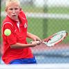 10-3-13<br /> Tennis sectional<br /> Kokomo 3 singles Grant Patterson<br /> KT photo | Kelly Lafferty