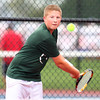 10-3-13<br /> Tennis sectional<br /> Eastern 1 singles Ryan Manfred<br /> KT photo | Kelly Lafferty