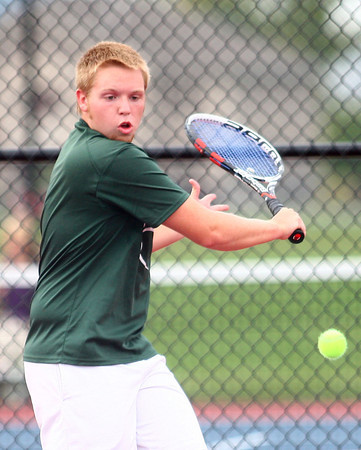 10-3-13<br /> Tennis sectional<br /> Eastern 2 singles Logan Colwell<br /> KT photo | Kelly Lafferty