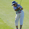 Gert Torbeck, 93, hits at hole 9 on Wednesday.<br /> Cliff Grassmick / July 18, 2012