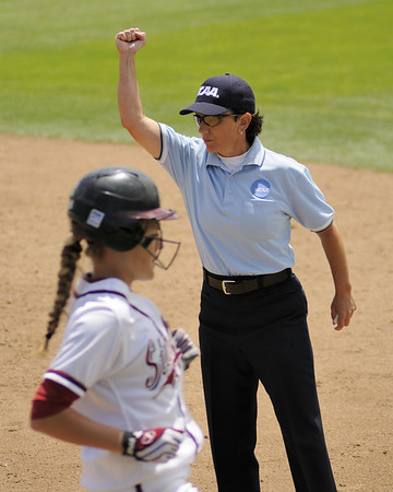 Umpiring 2010 NCAA Softball, Stanford Regional