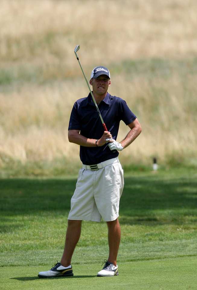 E.L. Hubbard Photography<br /> Nick Latimer, from Brooklyn,  during the Ohio Amateur at Moraine Country Club Friday, July 17, 2009.