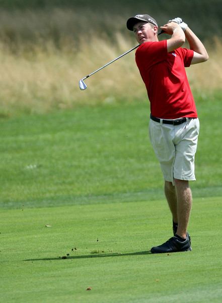 E.L. Hubbard Photography<br /> Alex Martin, from Middletown, during the Ohio Amateur at Moraine Country Club Friday, July 17, 2009.