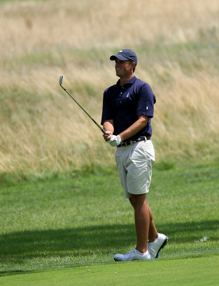 E.L. Hubbard Photography<br /> Kevin Grabeman, from Centerville,  during the Ohio Amateur at Moraine Country Club Friday, July 17, 2009.