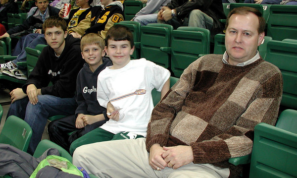 Ohio U at EMU basketball 2004