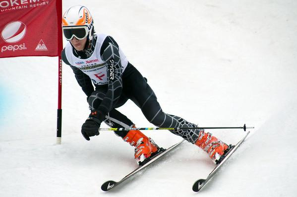 Okemo J3 Giant Slalom 2nd Run 01-07-12