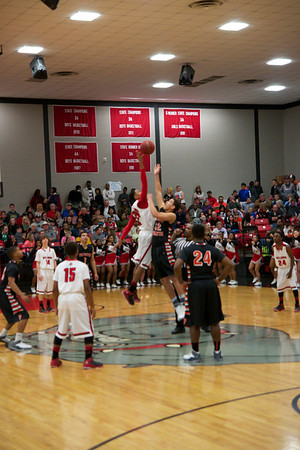 Okmulgee vs Preston @ County Tournament 2014
