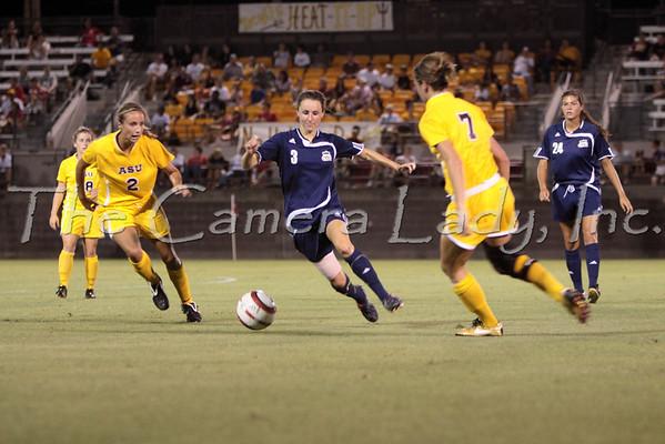 ODU 2009 Women's Soccer vs ASU 09.04