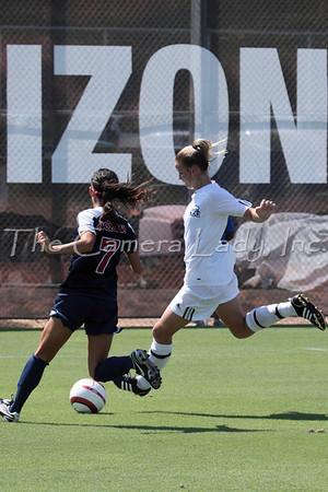 ODU 2009 Women's Soccer vs Arizona 09.06