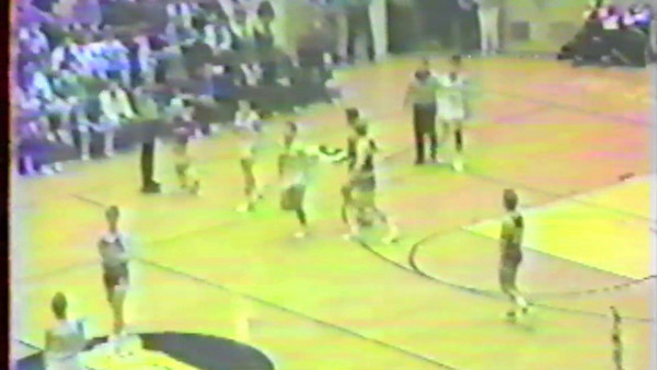 Final seconds of 1989 Washington Sectional Washington Catholic vs. Loogootee