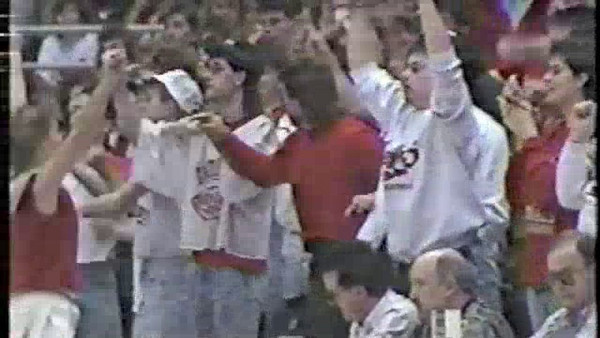 Clips from 1991 Semi-State Vincennes Lincoln vs. Washington Catholic
