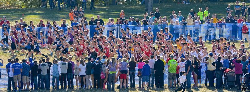State Cross Country Championships. At Sugarhouse Park in Salt Lake City. On October 23 2013. (Brian Wolfer Special to the Standard-Examiner)