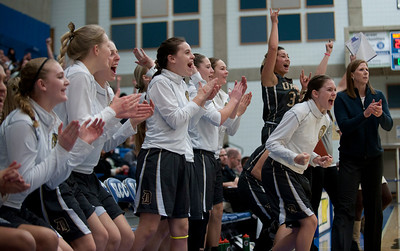 Davis defeats Hunter High School. At the Girls State Basketball Tournament. At Salt Lake Community College on February 16, 2015