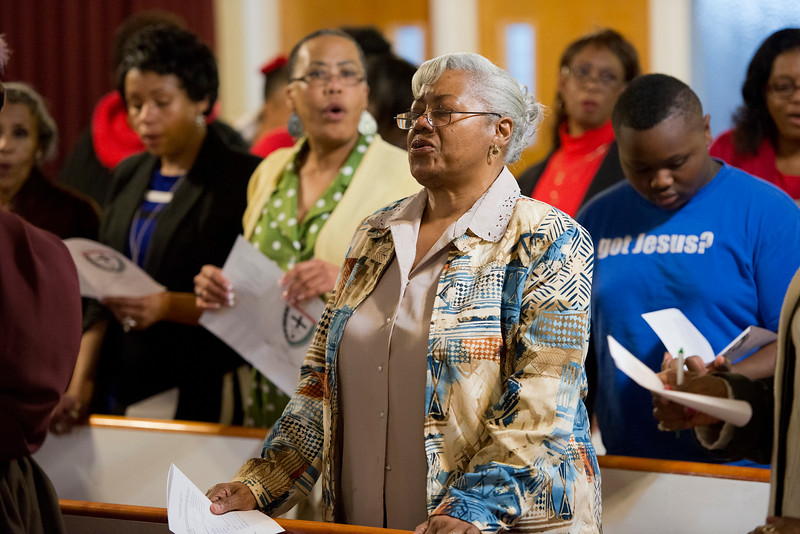 """Embry Methodist Church remembers the African American leaders that blazed the trail for equal rights as part of their """"Founders Day of Black History Program"""". In Ogden, On February 15, 2014. (Brian Wolfer Special to the Standard-Examiner)"""
