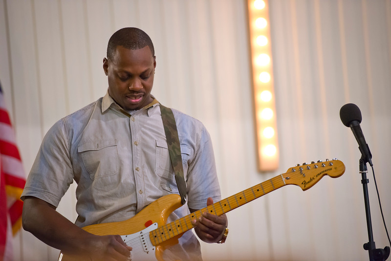 Bryan Dennis performs at the Embry Methodist Church for the Founders Day of Black History Program. In Ogden, On February 15, 2014. (Brian Wolfer Special to the Standard-Examiner)