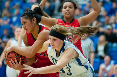 Fremont High School vs. West High at Salt Lake Community College on February 16, 2015.