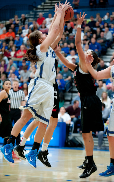 Fremont narrowly beats American Fork in a exciting game. On Friday during the State Semifinals. At Salt Lake Community College on February 20, 2015.