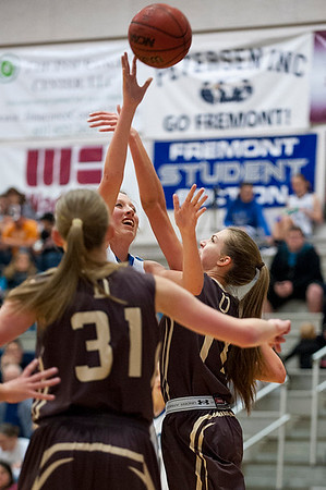 Fremont Silverwolves girls basketball team defeats Davis with big scoring numbers. At Fremont High School On January 14  (Brian Wolfer Special to the Standard-Examiner)