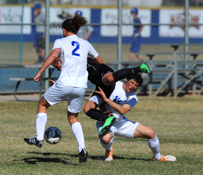 Northridge beats fremont 2-0 in a controlling victory. On Thursday at Fremont High School on March 19, 2015.  BRIAN WOLFER/ Special to the Standard-Examiner.