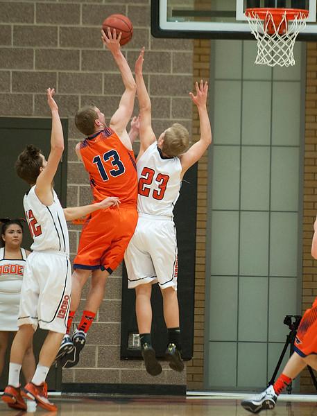 Mountain Crest High School vs Ogden High School On Wednesday January 7 2015.