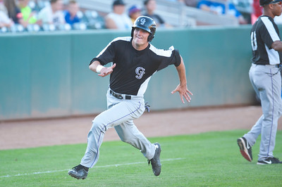 Grand Junction Rockies get a early lead on the Ogden Raptors At Lindquist Field in Ogden on July 28 2015.