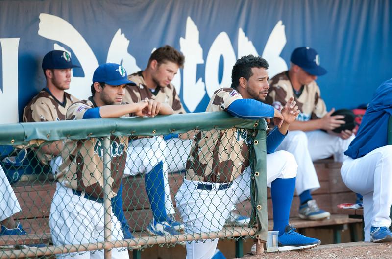 Ogden Raptors take on the Orem Owlz At Lindquist Field in Ogden on June 26, 2015