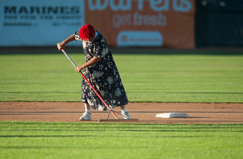 Ogden Raptors take on the Orem Owlz At Lindquist Field in Ogden on June 26, 2015