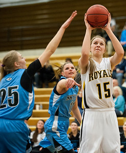 Sky View takes on  Roy High Schoo.l At Roy High School on January 15, 2015.
