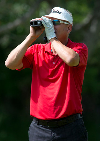 Kirk Siddens competes in a golf tournament highlighting local players at Valley View Golf Course In Layton on June 4, 2015.
