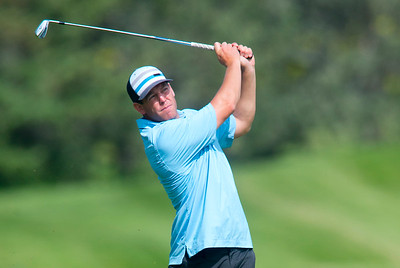 Kurt Owen competes in the Utah Mid-Amateur Championship held at View Golf Course In Layton on June 4, 2015.