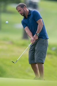 Jason Haregtt competes in the Utah Mid-Amateur Championship held at View Golf Course In Layton on June 4, 2015.
