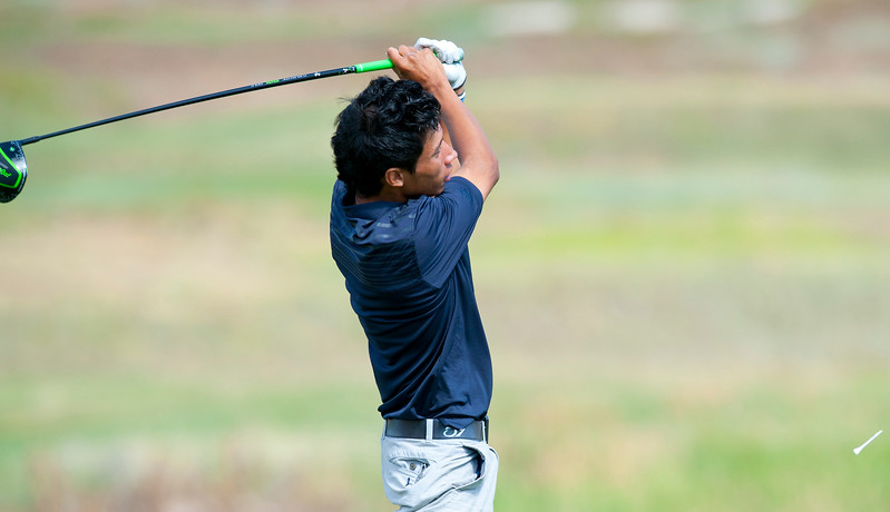 Kai Ruiz competes in the Utah State Amateur Championship held at Soldier Hollow Golf Course in Midway on July 10, 2015.
