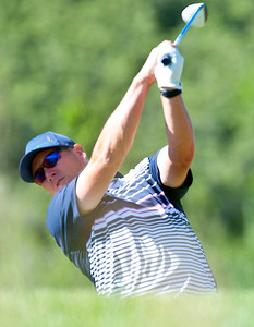 Darrin Overson competes in the Utah State Amateur Championship held at Soldier Hollow Golf Course in Midway on July 10, 2015.