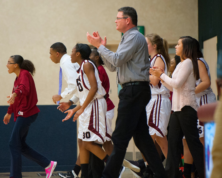 Waterford take on Layton Christian girls basketball. At the Layton Christian Academy on  January 29, 2015.
