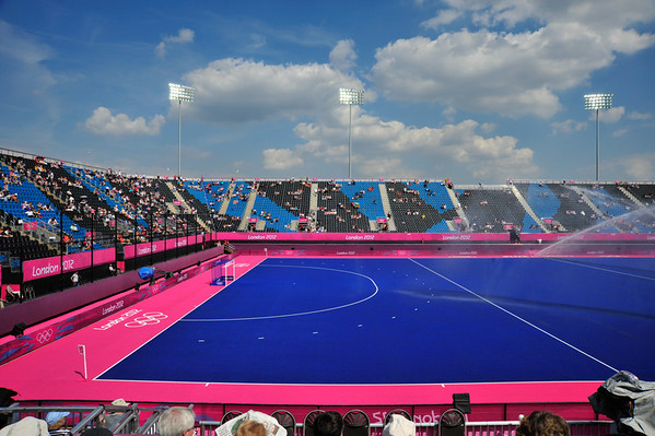 Hockey Stadium, London Olympics, 2012.