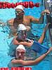 Michael Phelps, Allison Schmitt, Melanie Margalis