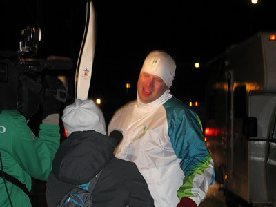 Caleb's interview after running with the Torch.