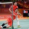 APTOPIX Rio Olympics Badminton Men