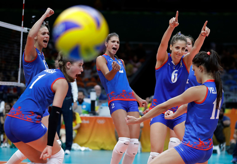 APTOPIX Rio Olympics Volleyball Women