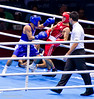 Olympic Boxing Semifinals, 10 August 2012.  Pongprayoon of Thailand fought back well to defeat Ayrapetyan of Russia in the Men's Light Fly Weight.