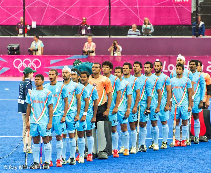 India sing their National Anthem