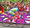 Alexandr Vinokurov wins the Men's Road Race