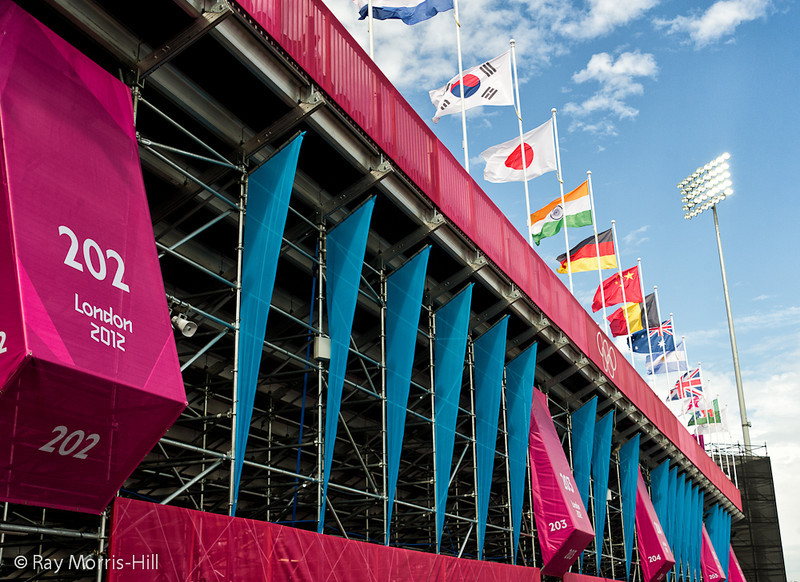 The Riverbank Arena, home of the Olympic Hockey tournament